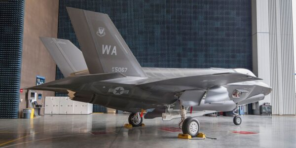 F-35 Photo Release: F-35A Lightning II With First Australian Made Vertical Tails Receives Final Finish