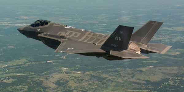 First F-35A with Australian Made Vertical Tails Takes Flight